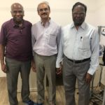 Dr Manchikanti visited our center